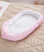 Baby Kuschelnest Reisebett Babynest Baumwolle STANDARD 100 by OEKO-TEX ComfortBaby